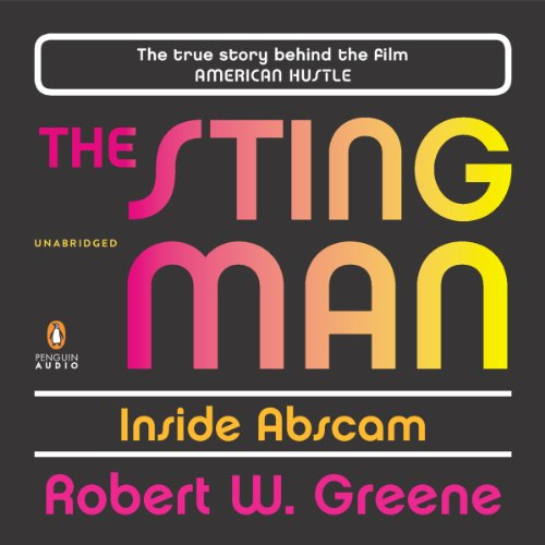 The Sting Man audiobook cover art