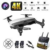 NANE Drone con Telecamera 4K Full HD, Volo di traiettoria, modalità Headless, Funzionamento con Un...