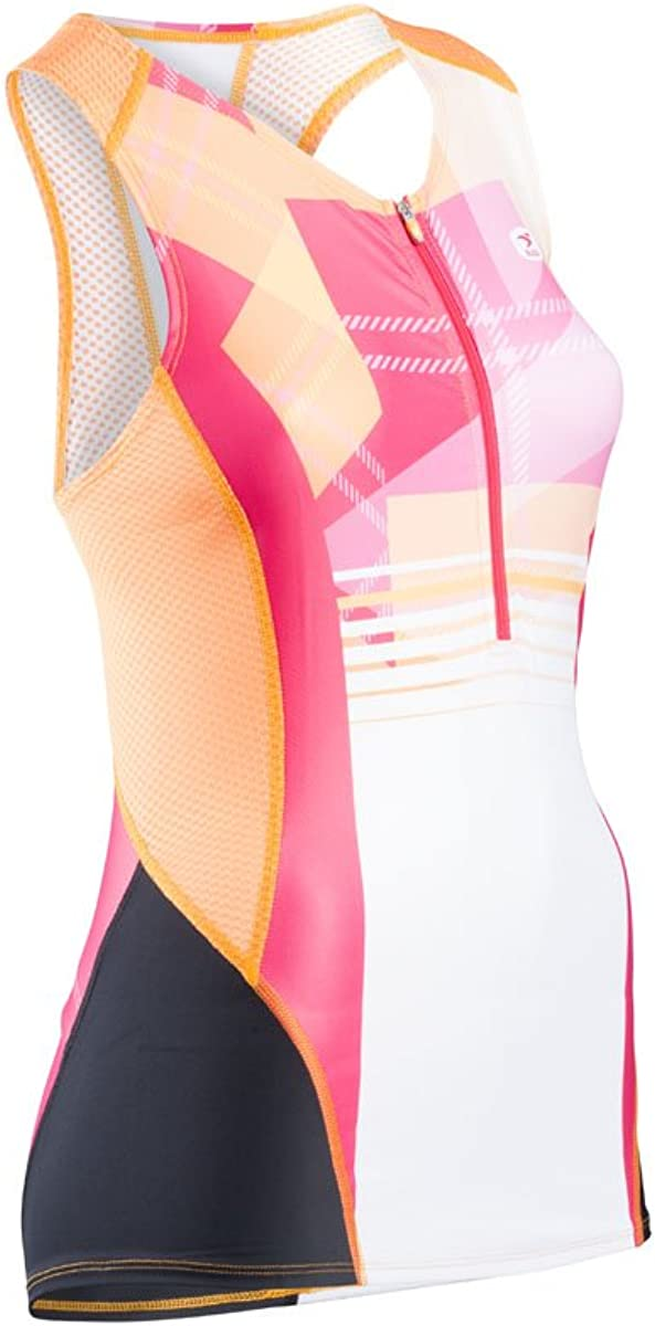 SUGOi Women's 2021 spring and summer new RPM Tri with Plaid Now free shipping Tank Top