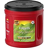 Folgers Simply Smooth Coffee, Mild Roast Ground Coffee, 31.1 Ounces, Packaging May Vary