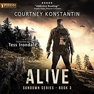 Alive     Sundown, Book 3              Written by:                                                                                                                                 Courtney Konstantin                               Narrated by:                                                                                                                                 Tess Irondale                      Length: 11 hrs and 16 mins     Not rated yet     Overall 0.0