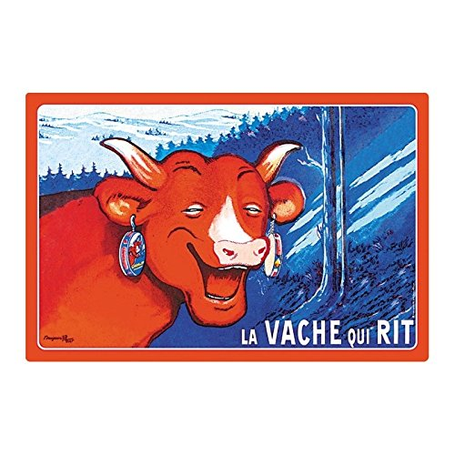 Editions Clouet 31030 - Set de Table Vache Qui rit - Montagne