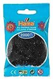 Desconocido Hama Perlen 501-18 - Mini Perlas Negras, 2000 Piezas [Importado de Alemania]