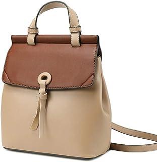 Wild fashion leather shoulder bag oil wax leather shoulder bag backpack female. jszzz