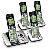 VTech CS6529-4 DECT 6.0 Phone Answering System with Caller ID/Call Waiting, 4 Cordless