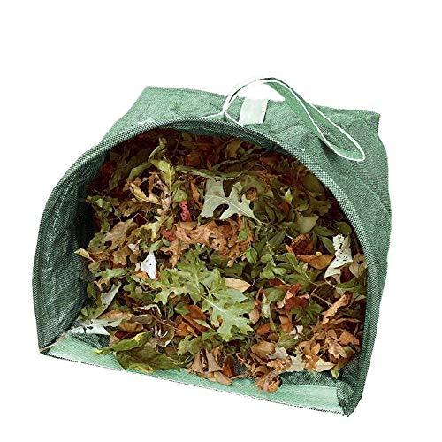 GoodFaith Gartenmüllsack, wiederverwendbar, Gartentüte, Rasen- und Laubbeutel, Gartenmüllbeutel, Müllbeutel, 53 Liter