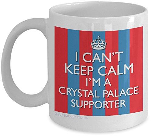 Can't Keep Calm I'm a Crystal Palace Supporter Novelty Fun Mug