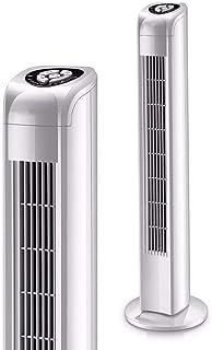 Yuzhonghua Aire Acondicionado Ventilador eléctrico, el hogar/Oficina de Control Remoto for Suelo de la Torre Ventilador sin Cuchilla silenciosa Vertical Fan una mecánica/B Control Remoto portátil