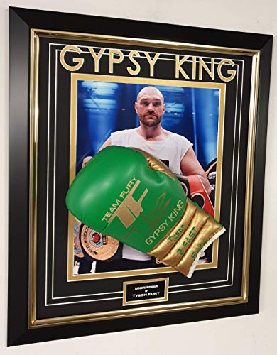 Unterzeichneter Boxhandschuh Tyson Fury, AFTAL DELAER Zertifikat