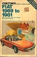 Chilton's Repair and Tune-Up Guide: Fiat, 1969-1981 (850, 124, 128, 131, X1/9, Brava, Super Brava, Strada)