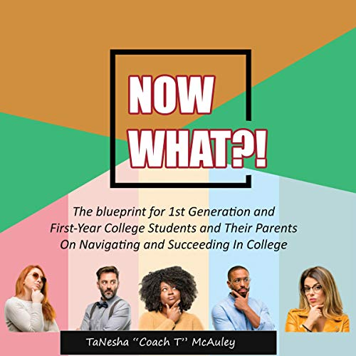 Now What?! audiobook cover art