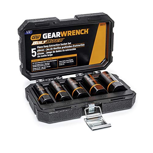 GEARWRENCH 5 Pc 1/2in. Drive Bolt Biter