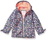 Carter's Girls' Little Midweight Fleece-Lined Jacket, Floral On Blue, 6X