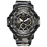 SMAEL Reloj Deportivo Digital Multifuncional, Impermeable,...