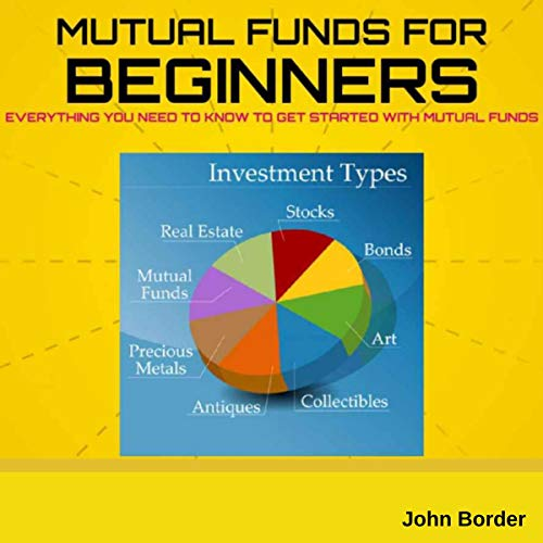 Mutual Funds for Beginners Book  audiobook cover art