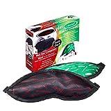 La maschera per gli occhi e il dottore del ghiaccio, confezione doppia. 1 compressore a caldo (MGD/Dry Eye) + 1 compressore a freddo – (febbre da fieno).