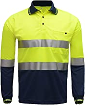 high visibility long sleeve polo shirts