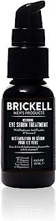 Brickell Men's Restoring Eye Serum Treatment for Men, Natural and Organic Eye Serum to Firm Wrinkles, Reduce Dark Circles,...