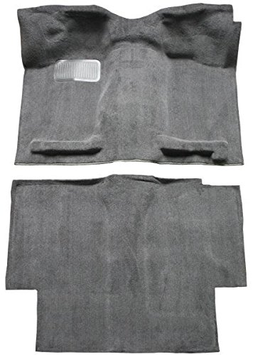 ACC Brand Carpet Compatible with 1987 to 1997 Nissan King or Extended Cab Pickup Truck (801-Black Plush Cut Pile)