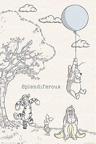 Winnie The Pooh - Disney Poster (Splendiferous) (Size: 24 inches x 36 inches)