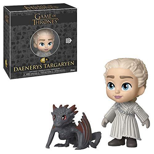 Funko Juego De Tronos Targaryen Figura 5 Stars Daenerys w/Drogon, Multicolor, Estándar (37774)