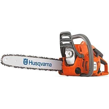 "Husqvarna 952802154 240 Model Chainsaw, 16"" Maximum Bar Length, Orange"