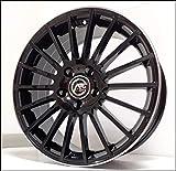 1 AC-M03 Llantas de Aleación NAD 7.5 17 5X112 45 66,5 Compatible Con Audi A4 A3 A6 Q2 Hecho en Italia