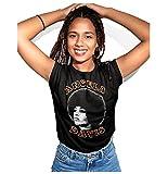 Angela Davis T-Shirt (Black, XLarge)