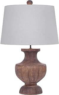 Bassett Mirror Company Stella 30-inch Brown Glass Table Lamp