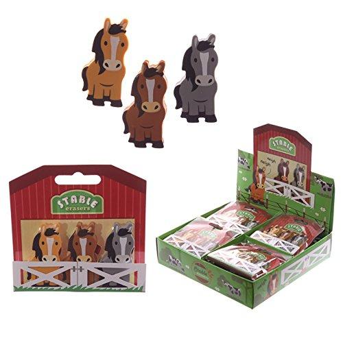 Set di 3 Gomme da Cancellare Pony