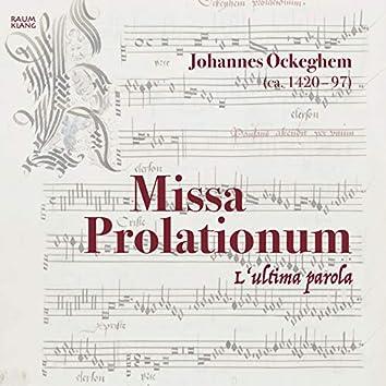 Missa Prolationum