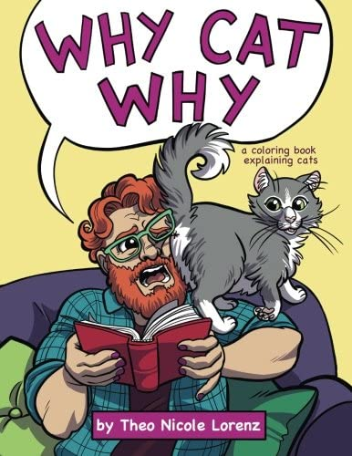 Pdf Why Cat Why A Coloring Book Explaining Cats