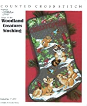 Woodland Creatures Stocking Counted Cross Stitch Design No 404