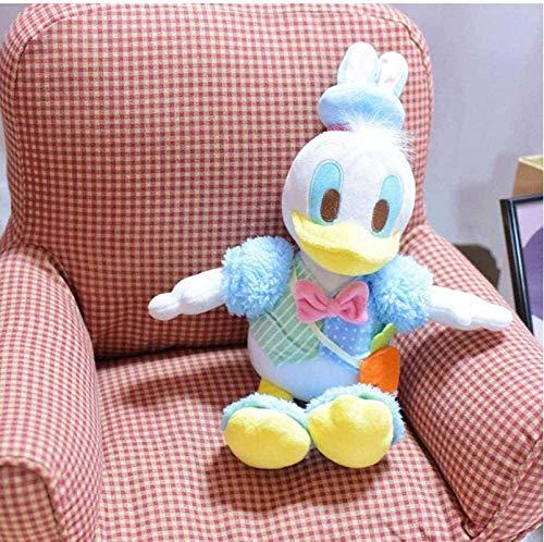HEWE Plüschspielzeug Japanische Cartoon-Figur Ostern Donald Duck Niedlichen Stofftier-Plüschspielwaren Kinder Puppen Kinder Geschenk 25cm Ymmstory