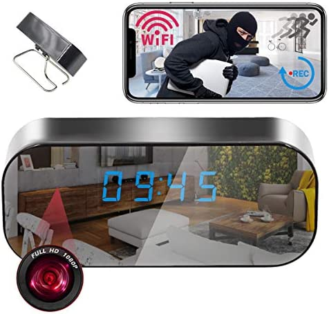 Clock Camera Wireless STTWXL HD 1080P WiFi Video Recorder for Indoor Home Security Monitoring product image