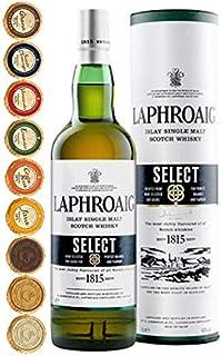 Laphroaig Select Islay Single Malt Whisky  9 Edel Schokoladen in 9 Sorten
