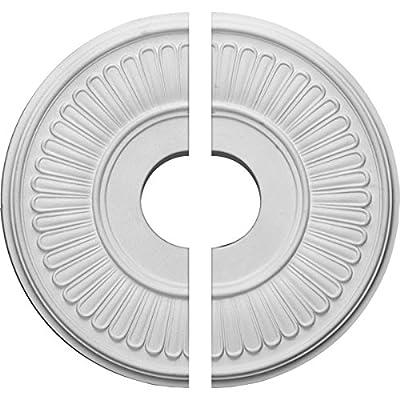 Ekena Millwork 15 3/4-Inch OD x 3 7/8-Inch ID x 3/4-Inch Berkshire Ceiling Medallion