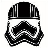 Cove Signs Captain Phasma Vinyl Decal/Sticker - Black 4' - Star Wars