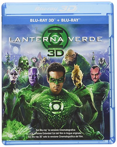 Lanterna Verde 3D (Blu-Ray 3D + Blu-Ray Disc);Green Lantern [Italia] [Blu-ray]