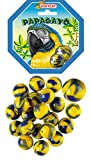 Kim'Play-20 Canicas + 1 Calota Papagayo, Color Colorido (A1804247)