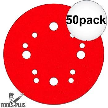 Diablo DCD050150H15G 5 in Freud America Inc 15-Pack 150-Grit Universal Hole Random Orbital Sanding Disc