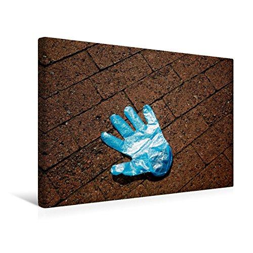 Calvendo Premium Textil-Leinwand 45 cm x 30 cm Quer, Ein Motiv aus Dem Kalender Handschuhe – Verloren – Vergessen | Wandbild, Bild auf Keilrahmen, Fertigbild Leinwand, Leinwanddruck Menschen Menschen - 6