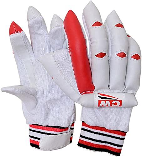 CW Striker - Guantes de bateo de críquet para críquet y bateo para adultos (mano derecha) 🔥