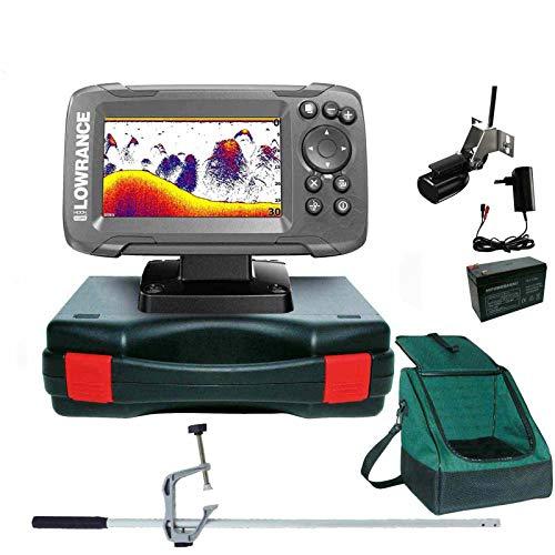 Lowrance Echolot Portabel Master Edition Plus Komplettsystem - Hook2 4X GPS