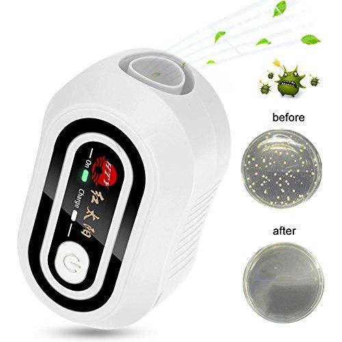 CPAP Geräte Reiniger Sterilisator für CPAP Beatmungsgeräte, Gesichtsmasken, Atemschläuche, CPAP Reiniger und Desinfektionsmittel, Sterilisationsgerät, Ozon-, CPAP Maskenschlauch Desinfektionsschrank