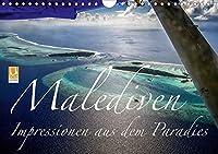 Malediven Impressionen aus dem Paradies (Wandkalender 2021 DIN A4 quer): Bilder aus dem Paradies. Impressionen, Farben und Eindruecke von den Malediven. (Monatskalender, 14 Seiten )