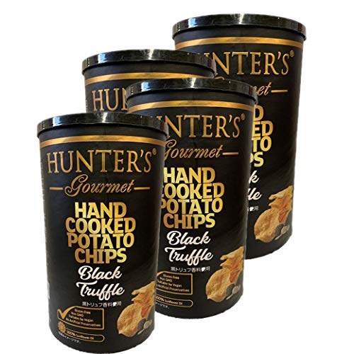 ハンター ポテトチップス 黒トリュフ150g 4個