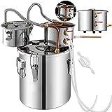 Tanque de fermentación, acero inoxidable y cobre ZHNGHENG (color: 4 galones)