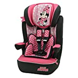 Nania i-Max Group 1/2/3 High Back Booster Car Seat, Disney Minnie