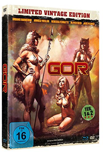 GOR 1+2 - Uncut Limited Vintage Mediabook (+ DVD) (digital remastered) [Blu-ray]